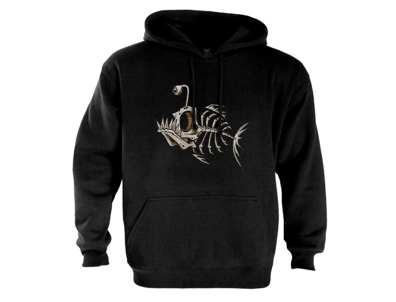 Fish-skeleton-bones-Hoodie-angler-piranha-sea-water-art