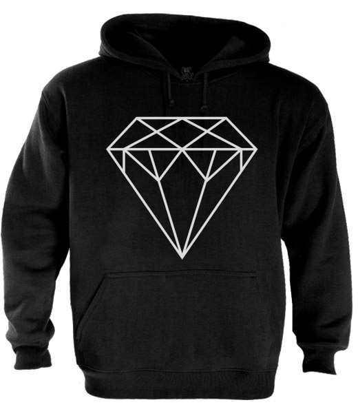 DIAMOND Hoodie DOPE Disobey OF WG Illest OWL GYM Wasted supply youth YOLO swag