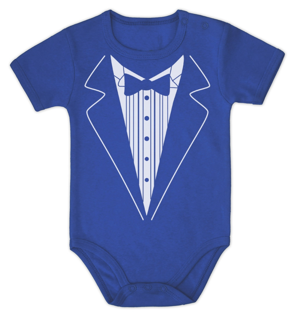 Wedding Tuxedo esie Baby ePiece Romper Clothing Shower
