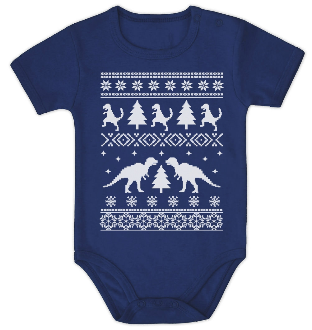 Ugly Sweater Merry Christmas Ya Filthy Animal Baby Onesie