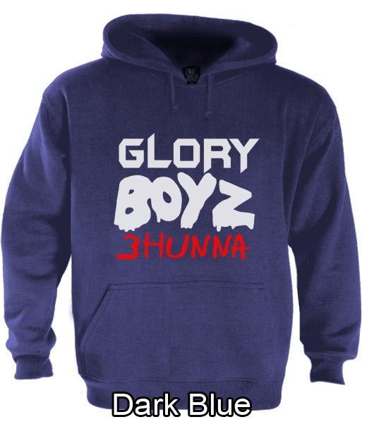Glory Boyz 3Hunna Hoodie Chief Keef Sosa Fredo SD GBE 300 Reese Bang ... 921176e4af2f