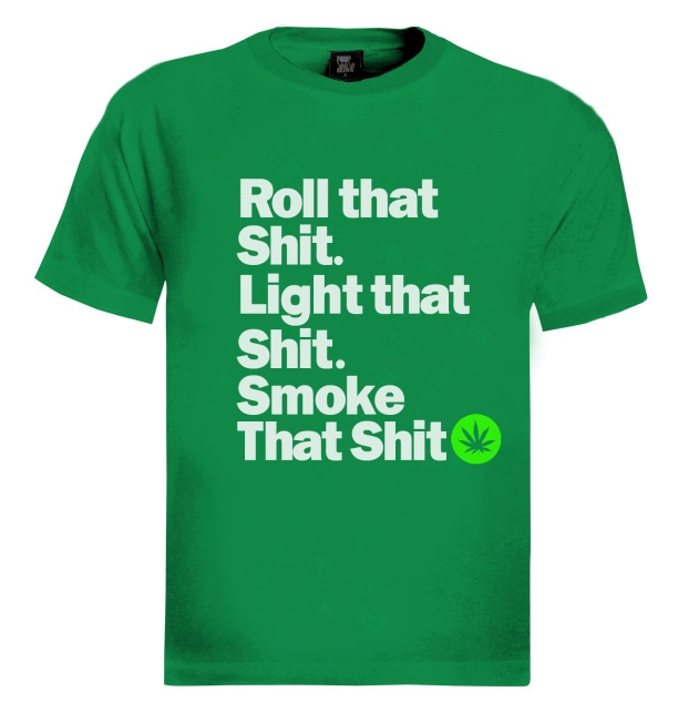 Roll that weed t shirt smoke wu tang keep one rolled for Wiz khalifa long sleeve shirts