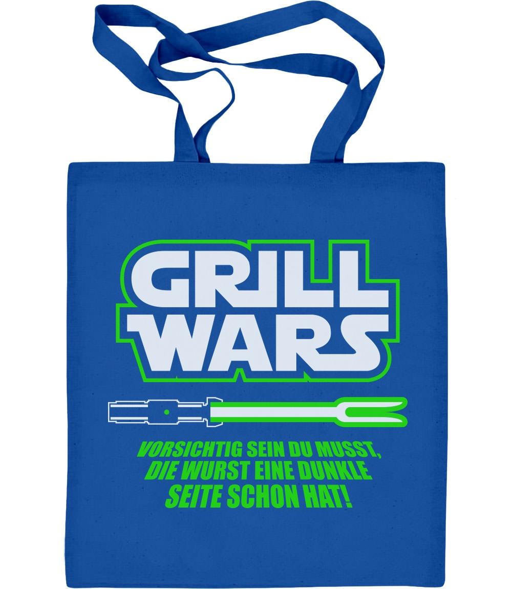 Geschenk für überirdische Grill Wars Jutebeutel Baumwolltasche Grillen