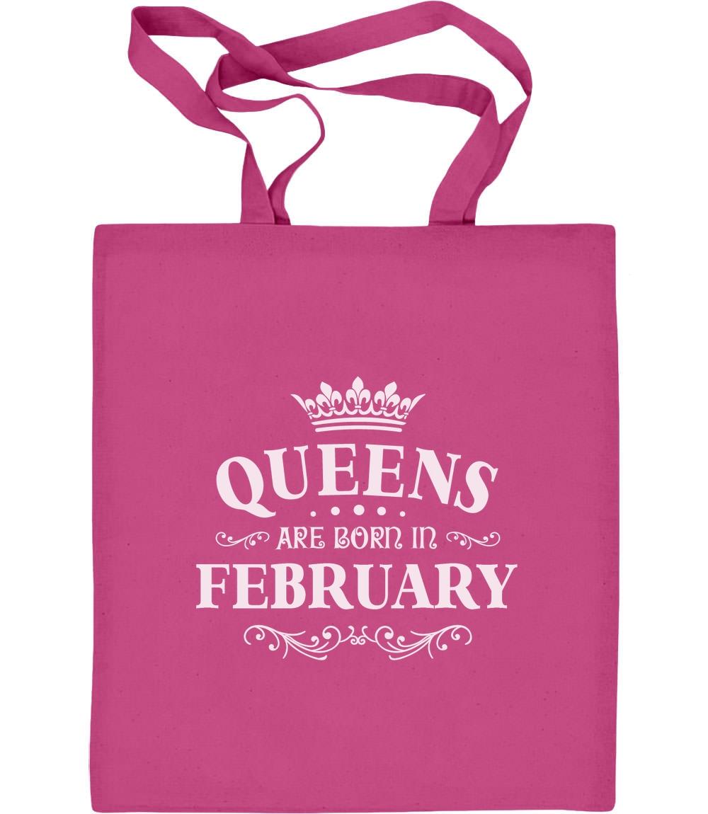 Königliches Geschenk für Februar - Queens Jutebeutel Baumwolltasche Royal