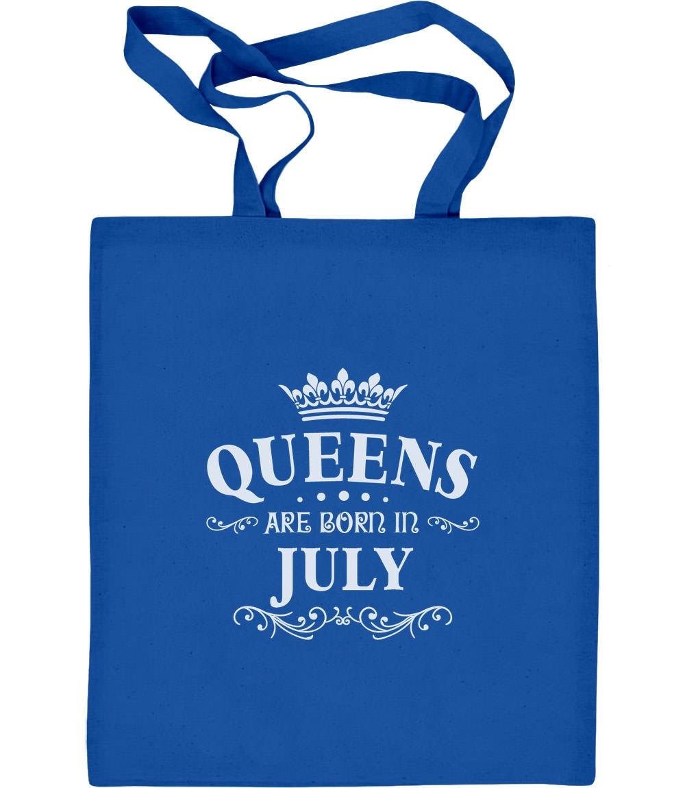 Königliches Geschenk für Juli - Queens Jutebeutel Baumwolltasche