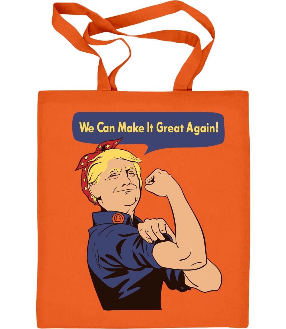 Witziges Präsent zum Muttertag mit Trump Jutebeutel Baumwolltasche Mama