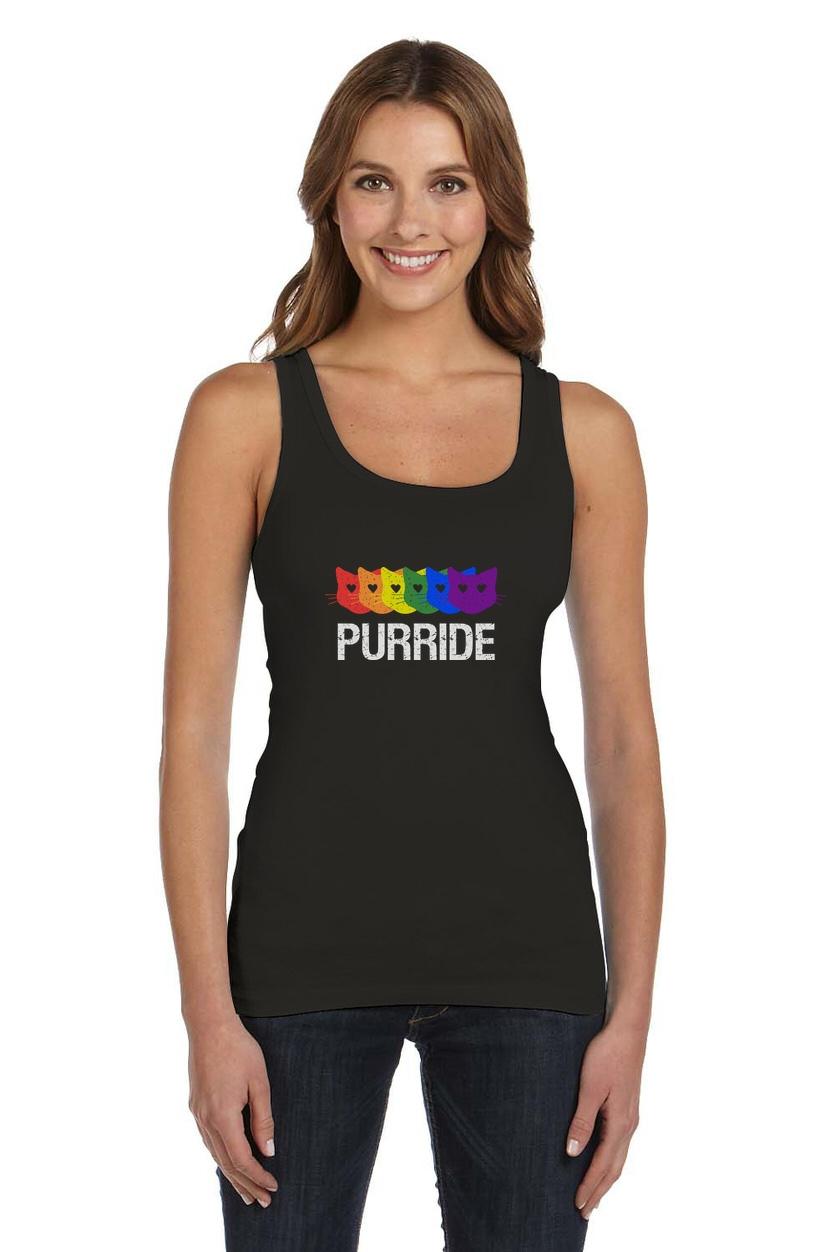 Purride-Gay-Pride-Cat-Lover-Funny-Women-Tank-Top-Rainbow-Flag