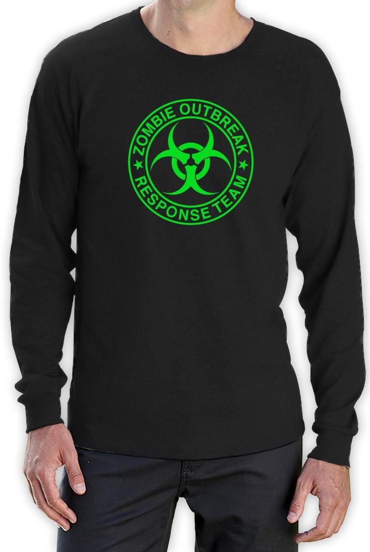 Zombie Outbreak Response Team langarm T-Shirt Walking Dead Jäger Daryl Dixon