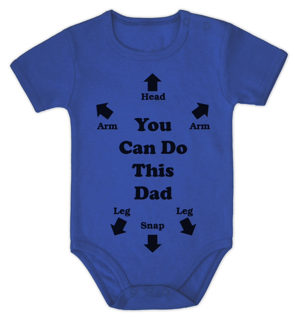 Baby gifts uk to australia : You can do this dad baby onesie shower gift