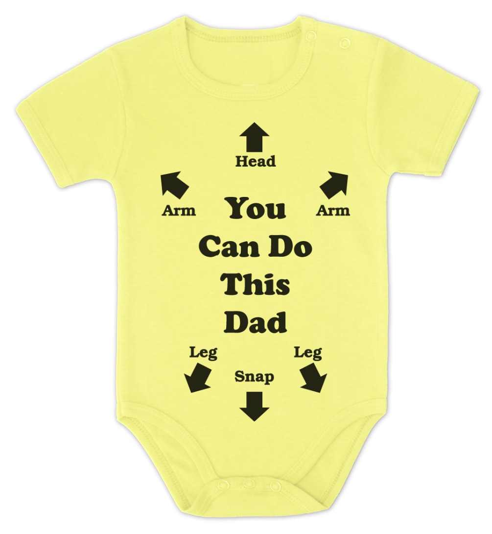 this dad baby onesie baby shower gift instructions dad to be bodysuit