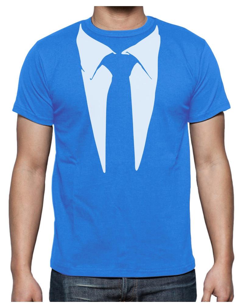Shirt Tuxedo Print Printed-suit-tuxedo-t-shirt