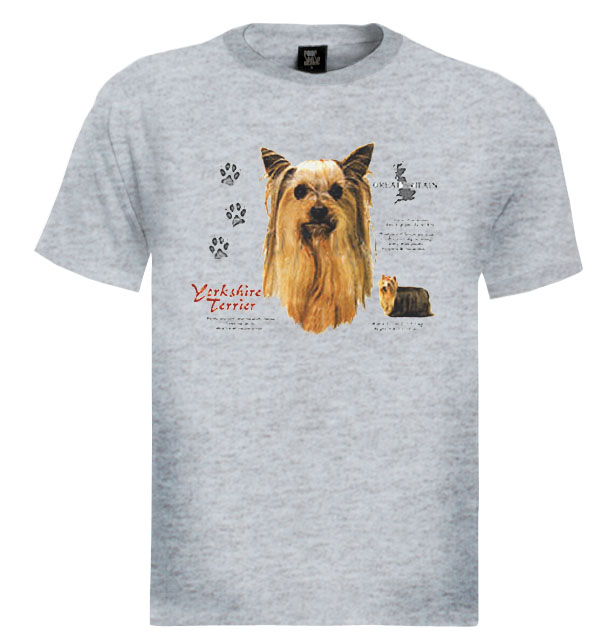 Yorkshire Terrier T Shirt Dog Cute Animals Race Love | eBay