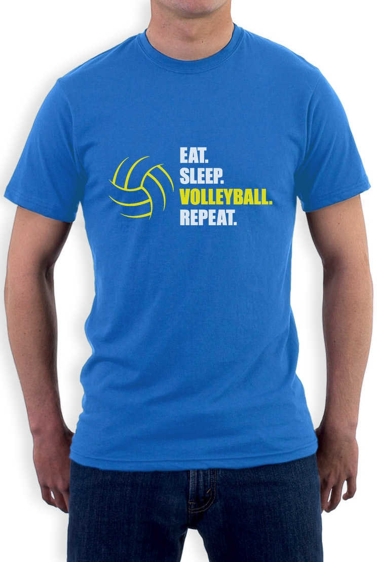 eat sleep volleyball repeat gift idea for volleyball