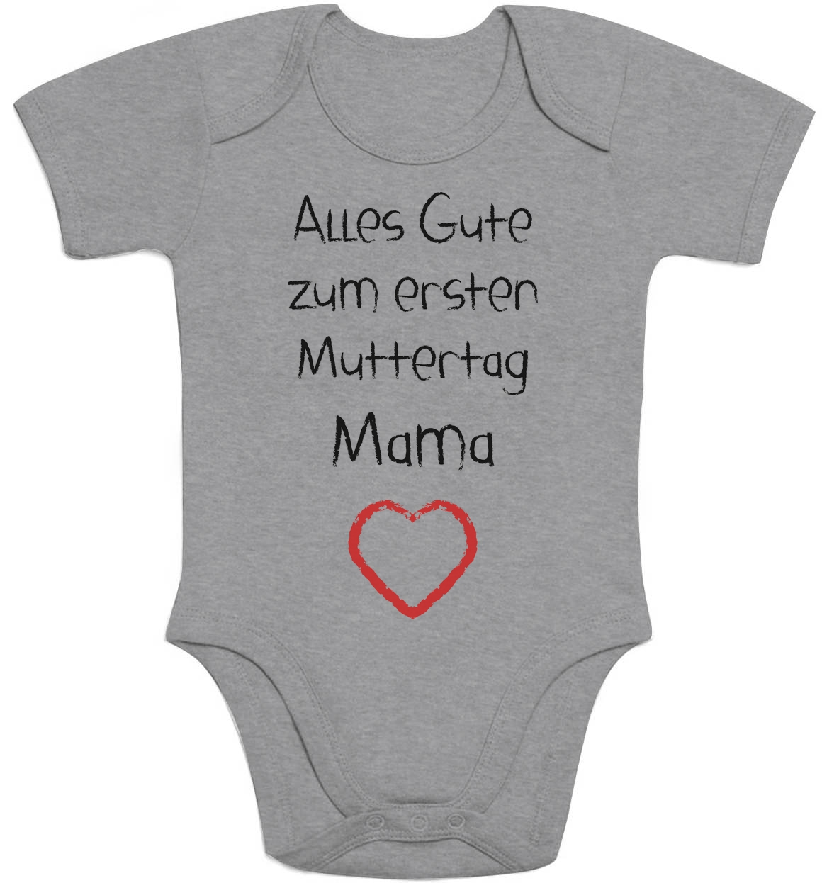 alles gute zum ersten muttertag mama geschenk baby mutter mutti baby body herz ebay. Black Bedroom Furniture Sets. Home Design Ideas