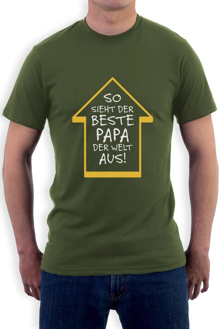 beste papa der welt vater geschenk vatertag geburtstag papi t shirt weihnachten ebay