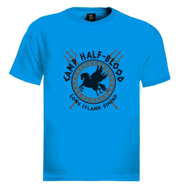Camp Half Blood Gods T-Shirt Pegasus Long Island Percy Jackson