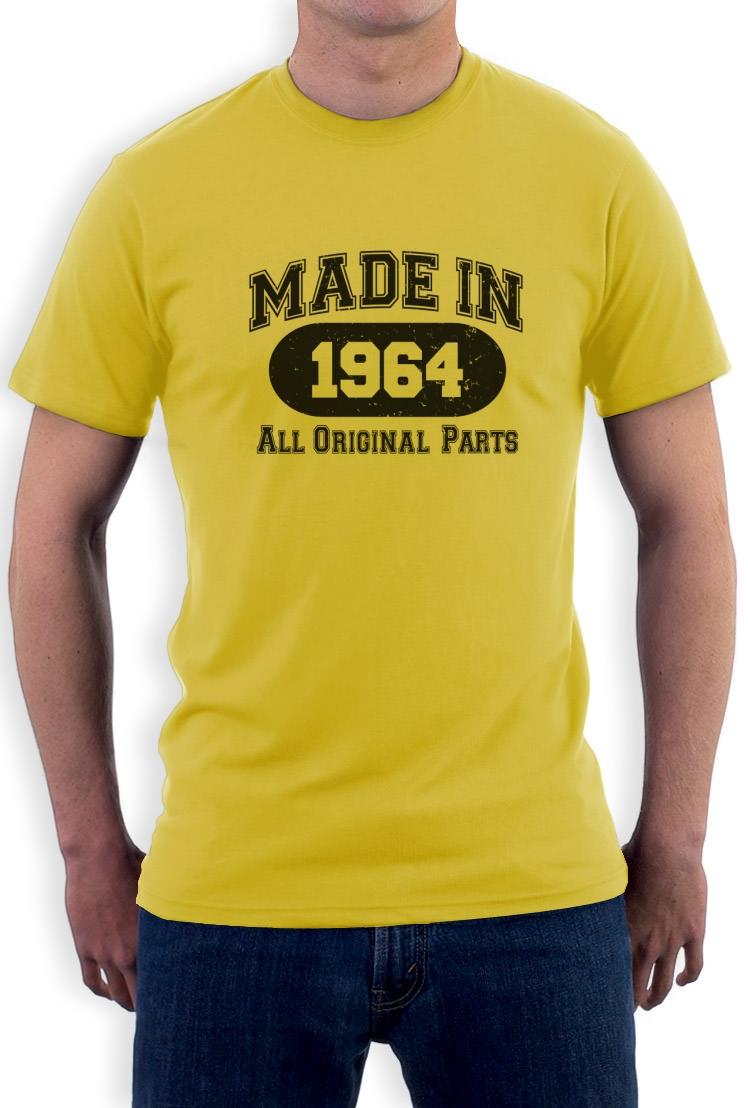im jahre 1964 gemacht t shirt 50 geburtstags geschenk idee mama papa funny tee ebay. Black Bedroom Furniture Sets. Home Design Ideas