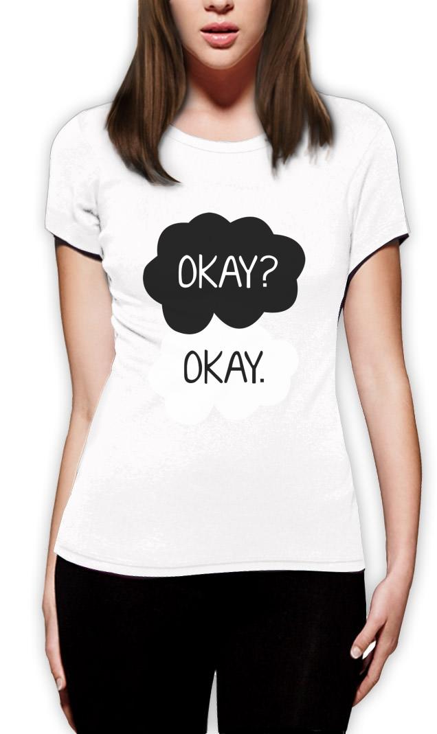 Okay? Okay Frauen T-Sh...