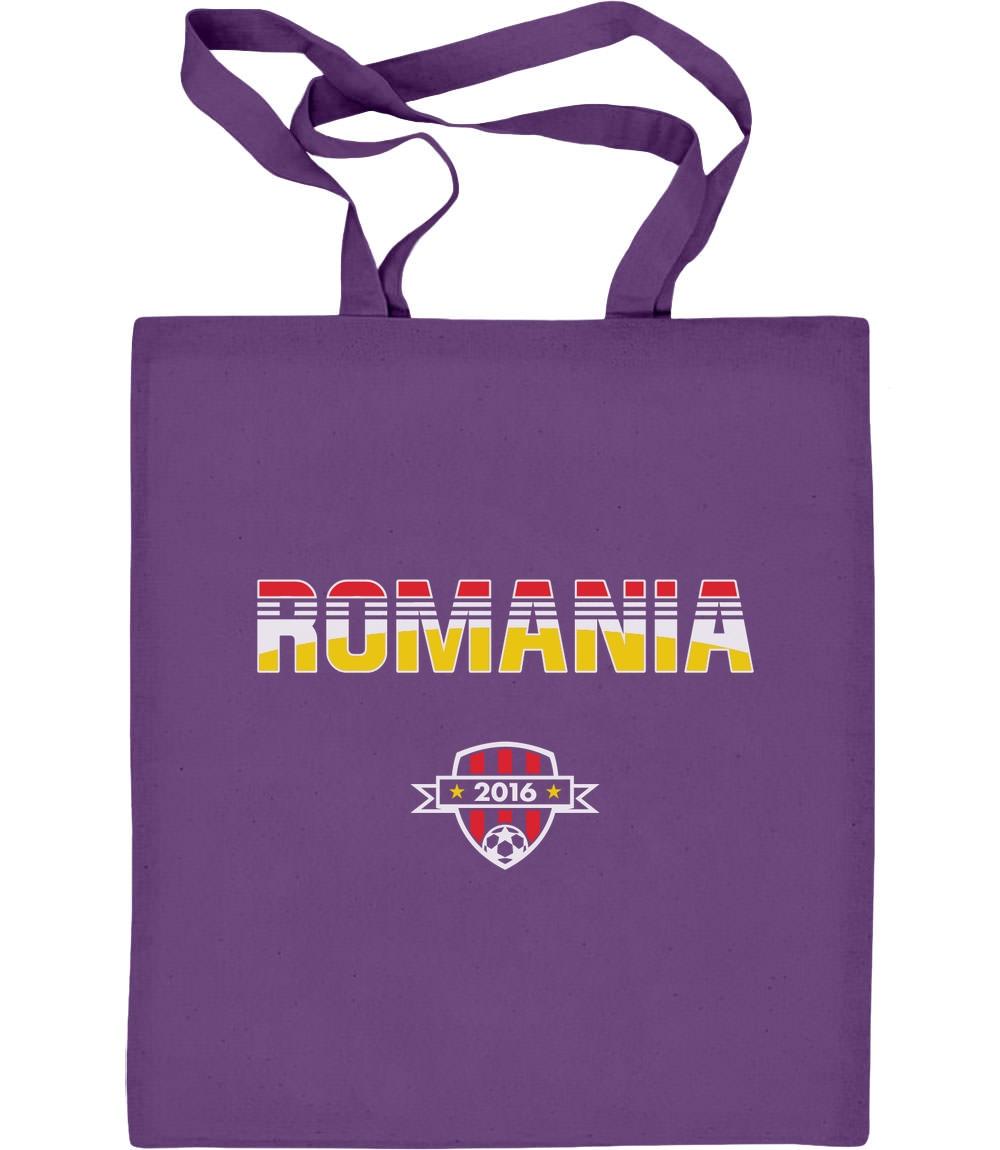 Romania Rumänien Euro 2016 EM Fanshirt Geschenk Jutebeutel Baumwolltasche