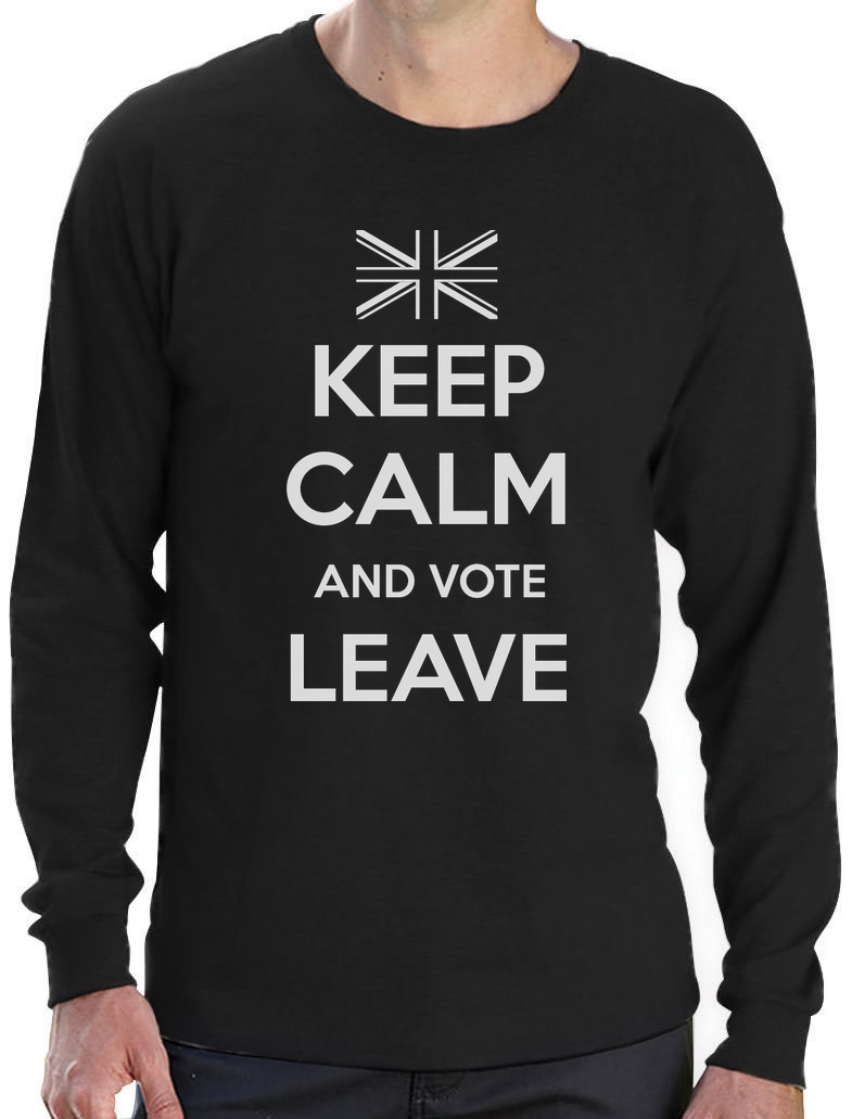 Keep-Calm-and-Vote-Leave-EU-Referendum-Political-Statement-Long-Sleeve-T-Shirt