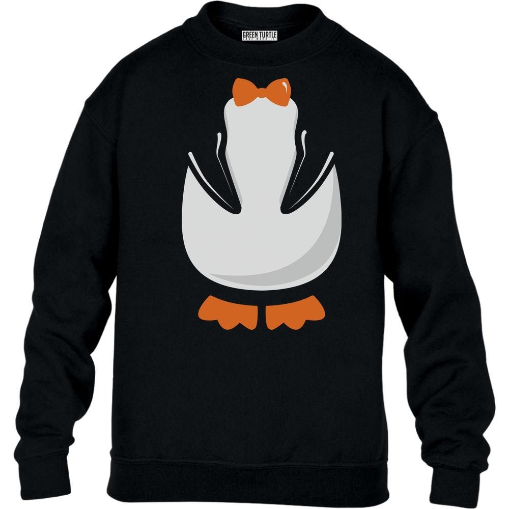 Suesses-Pinguin-Kostuem-fuer-Kinder-und-Erwachsene-Kinder-Pullover-Sweatshirt