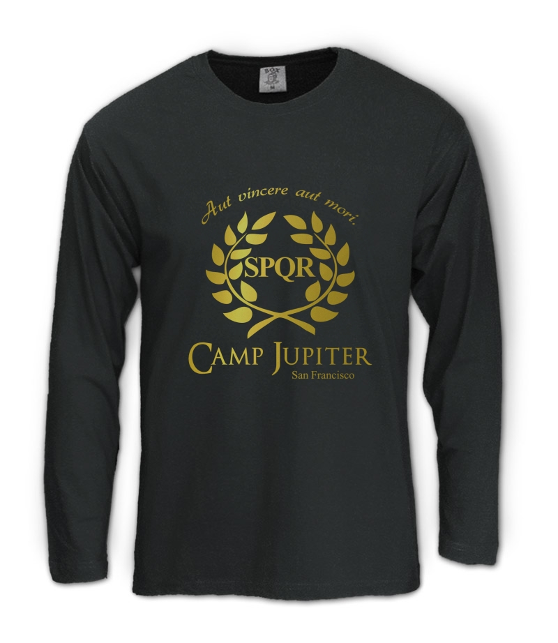 CAMP HALF-BLOOD Branches Long Sleeve T-Shirt CAMP JUPITER ... Camp Jupiter Shirt Percy Jackson