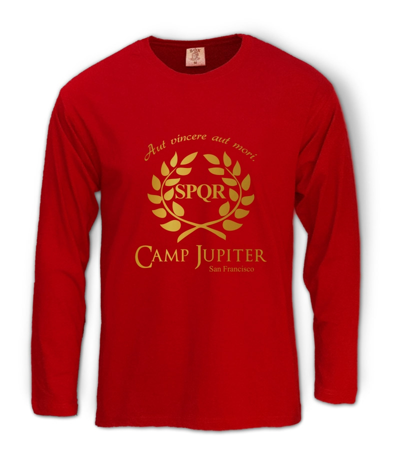 Camp half blood branches long sleeve t shirt camp jupiter spqr percy