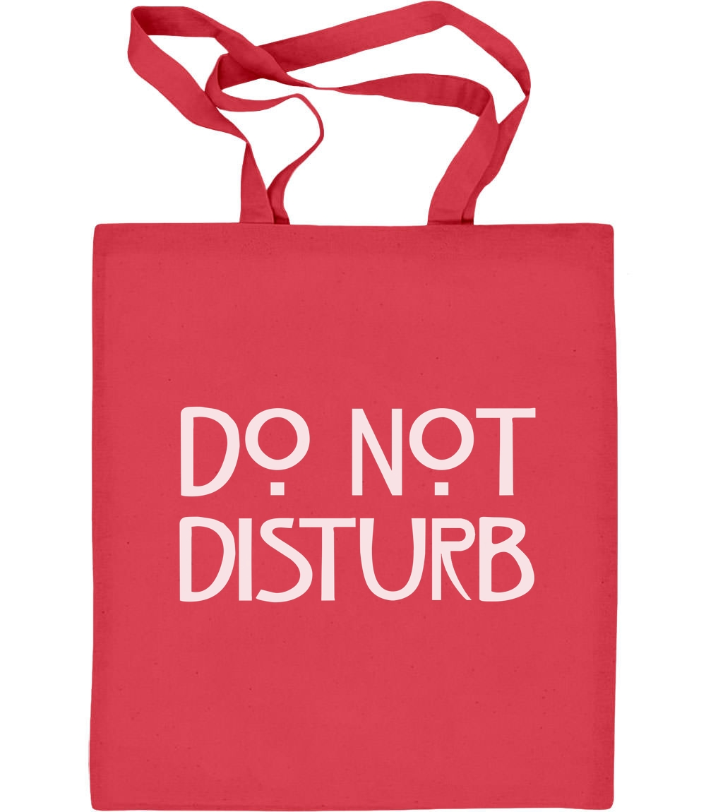 Do not Disturb - Geschenk für Serienfans Jutebeutel Baumwolltasche US Serie