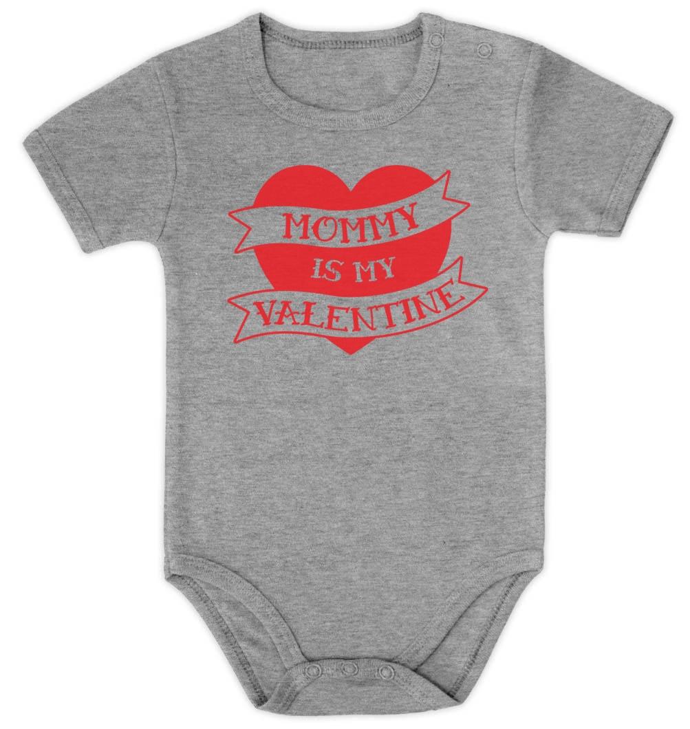 Mommy Is My Valentine Baby Onesie For Valentines Day Baby