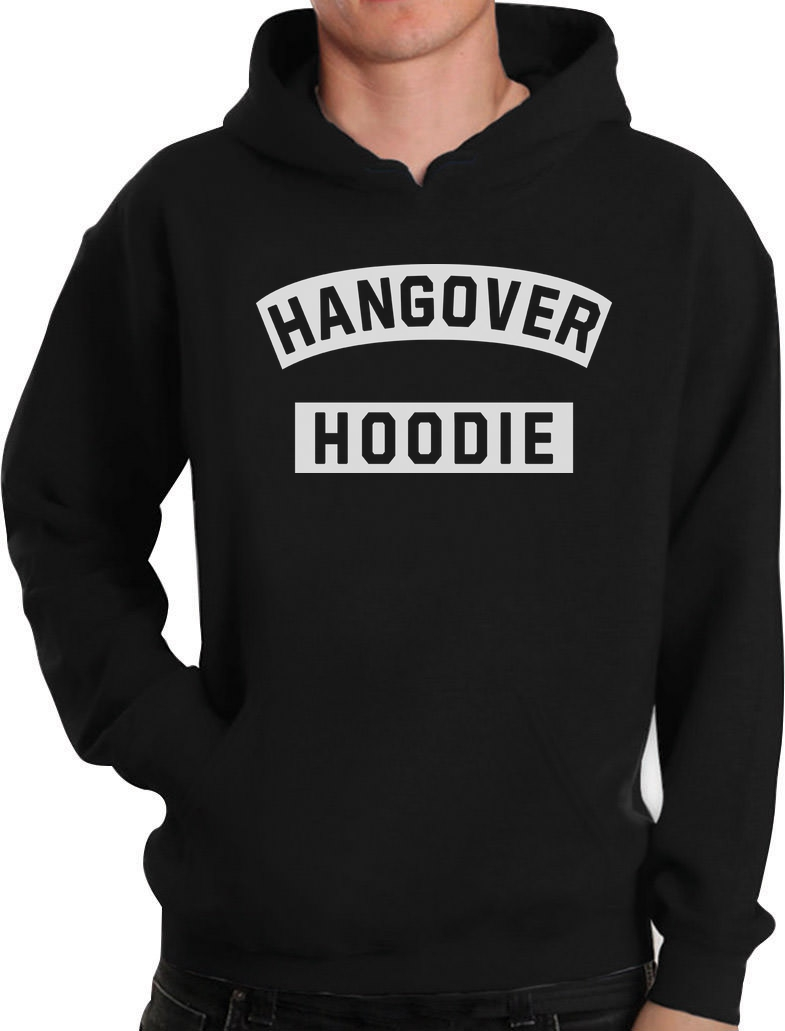 Hangover Hoodie Hoodie College Beer Drinking Alcohol St Patrick's Day Pullover