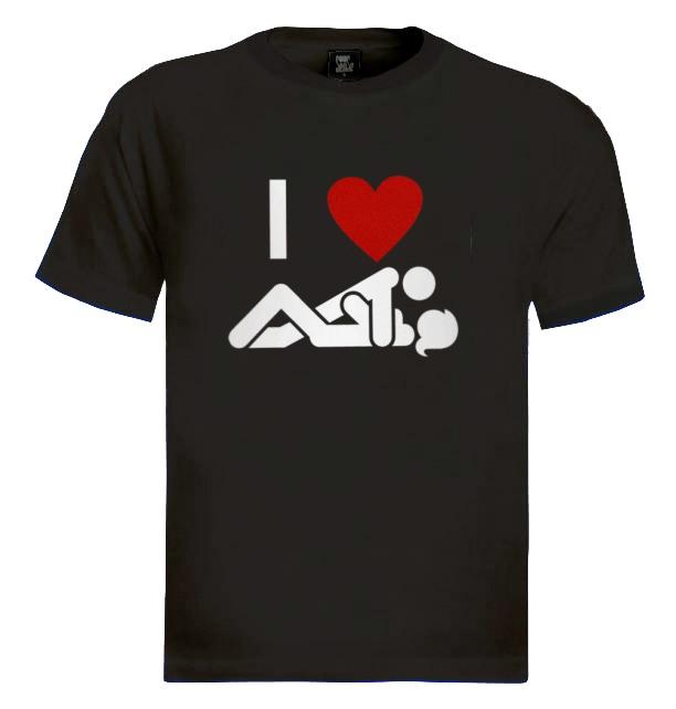 I love sex t shirt girl women offensive heart men guy tee for This guy has an awesome girlfriend shirt