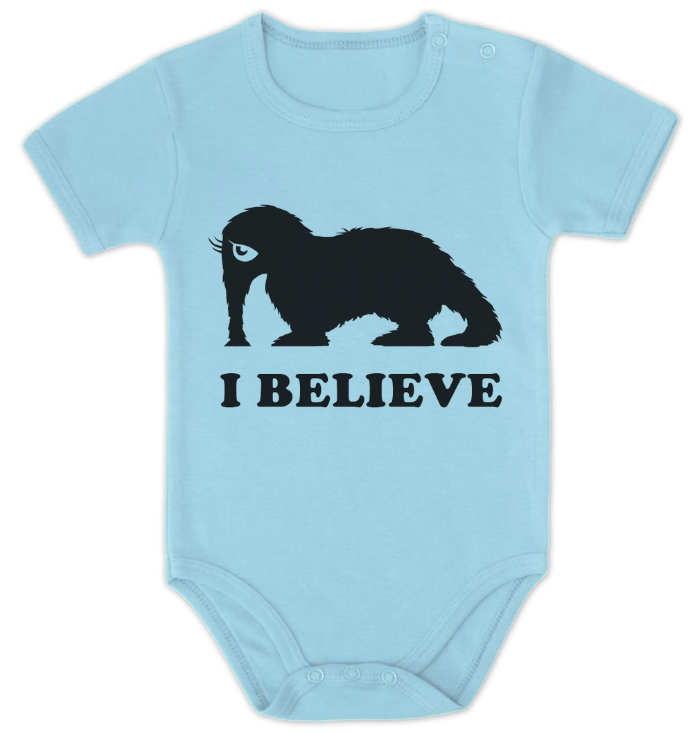 I believe Baby Onesie Elephant Cute woolly mammoth Baby ...