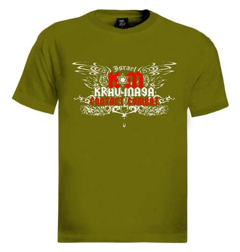 Krav-Maga-Contact-Combat-T-Shirt-Israel-idf-army-art