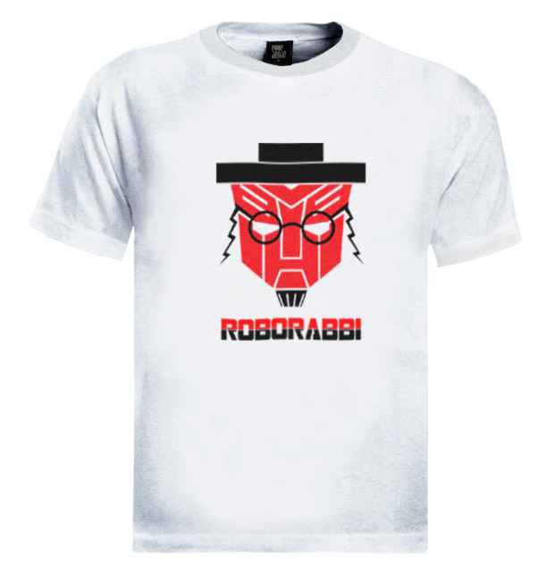 RoboRabbi-Funny-T-Shirt-robotech-judaica-jewish-israel